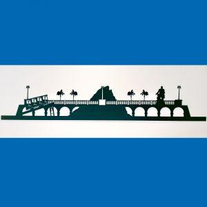 le skyline palois est un objet de décoration qui trouvera sa place dans votre pièce préférée