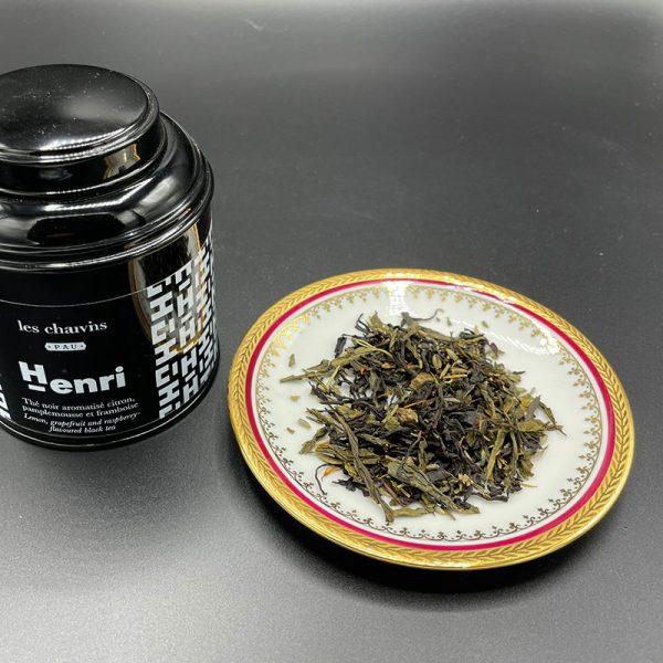 le thé Henri pour les chauvins est une création gourmande que l'on adore
